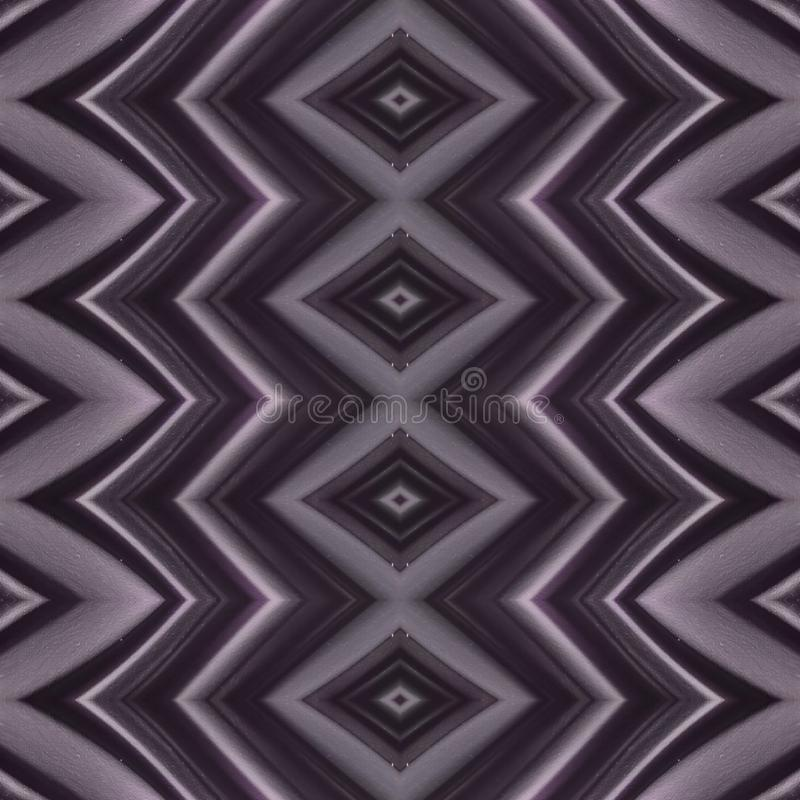 Abstract design with curved lines and geometric pattern on a purple colour surface, background and texture. Backdrop for colors related ads, geometric pattern vector illustration