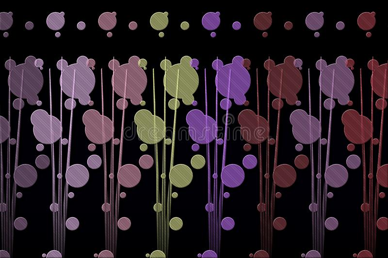 Abstract design with dark background royalty free stock images