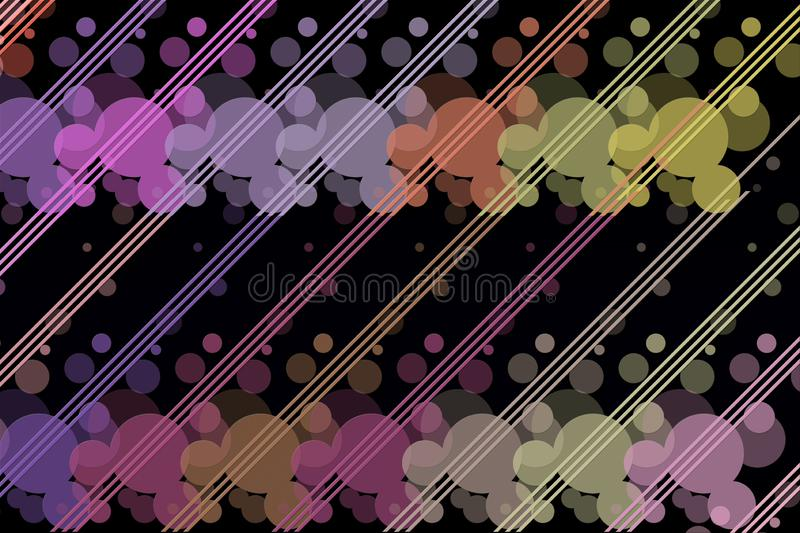 Abstract design with dark background stock photo