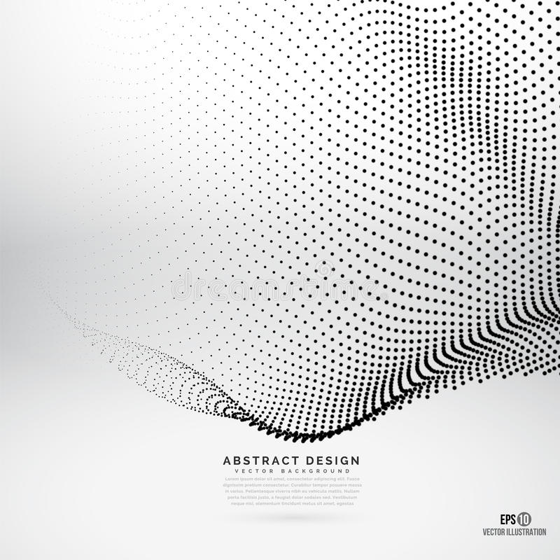 Abstract design dots background royalty free stock photo