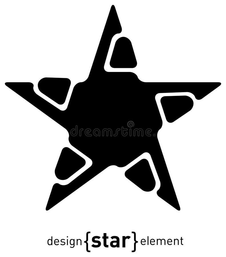 Download Abstract Design Element Star, Illustration Stock Illustration - Image: 20698236