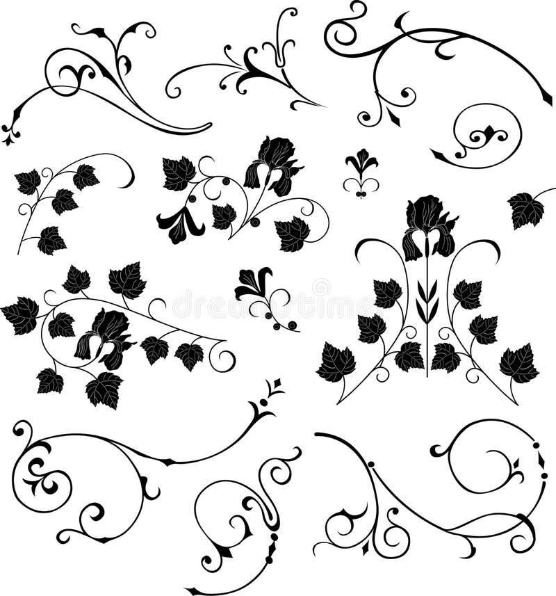Abstract_design_elements stock de ilustración