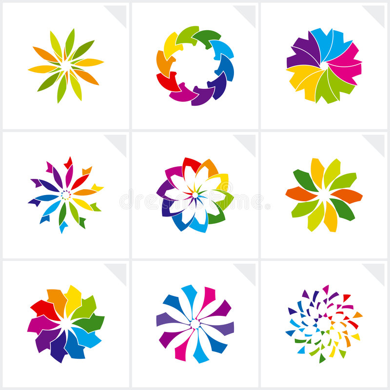 Download Abstract Design Elements. Vector. Stock Vector - Image: 8492181