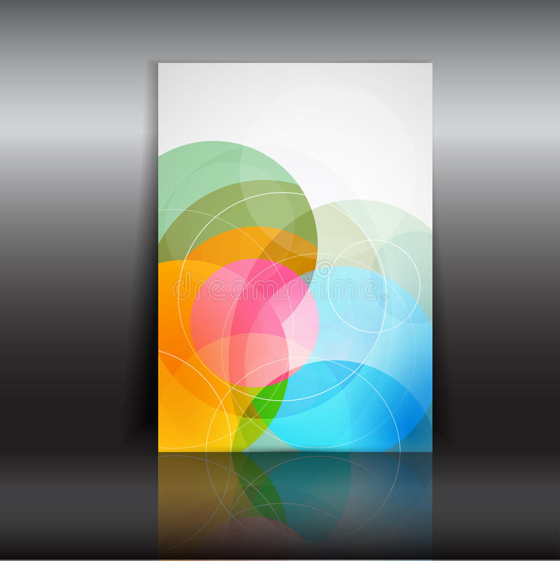 Download Abstract design flyer stock vector. Illustration of display - 23876838