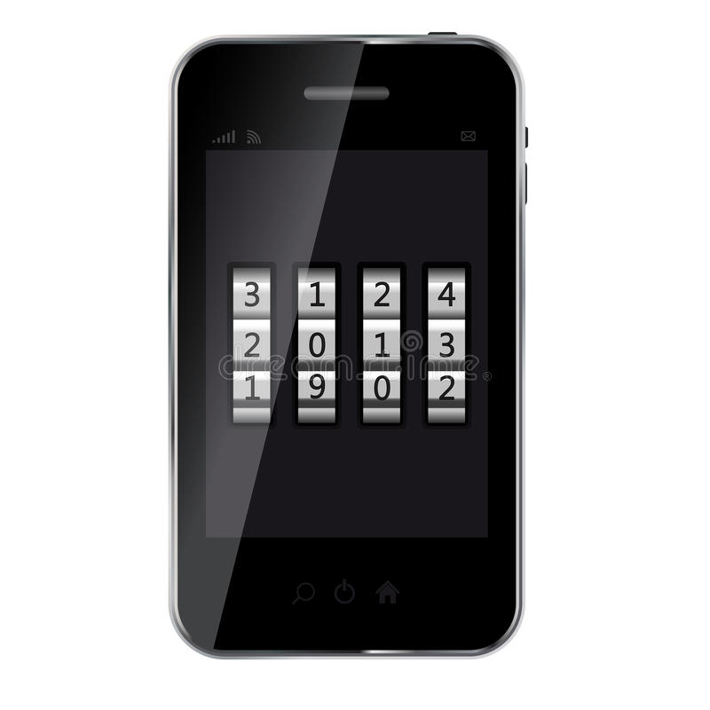 Download Abstract Design Mobile Phone Stock Vector - Image: 25913206
