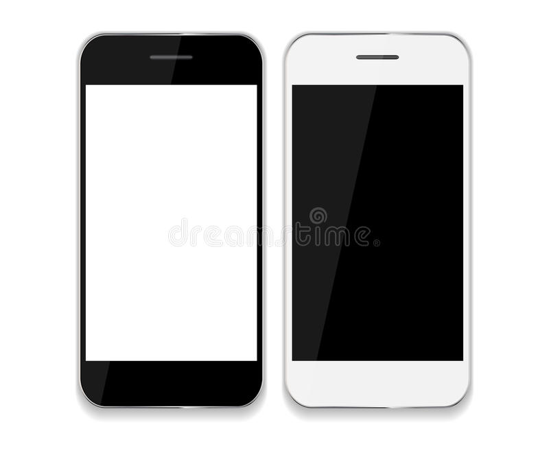 Abstract Design Mobile Phones . Vector. Illustration EPS10 royalty free illustration