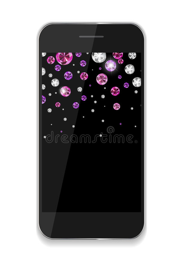 Abstract Design Mobile Phones . Vector. Illustration EPS10 stock illustration