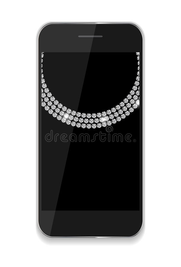 Abstract Design Mobile Phones . Vector. Illustration EPS10 vector illustration