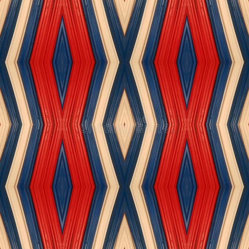 Abstract design with plasticine bars in blue, white and red colors, background and texture. School material for shaping figures, backdrop for ads related to royalty free stock images