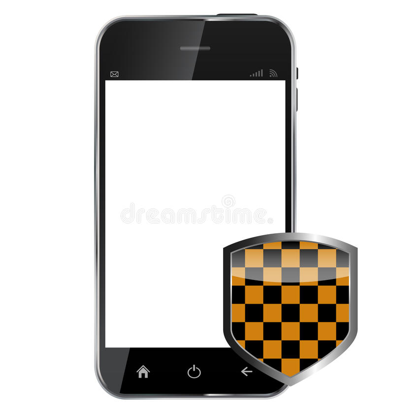 Free Abstract Design Realistic Mobile Phone With Stock Image - 35066181