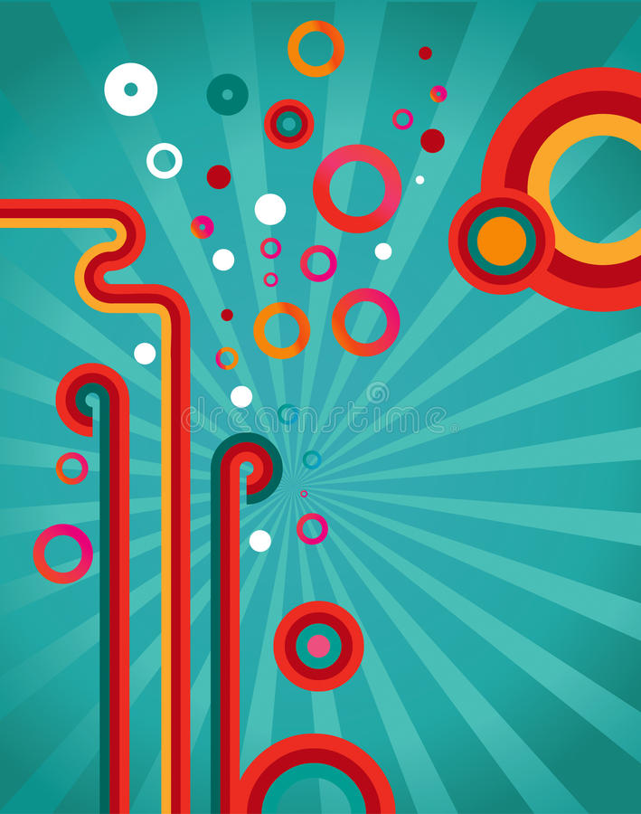 Download Abstract Design Retro Background Stock Illustration - Image: 10390056