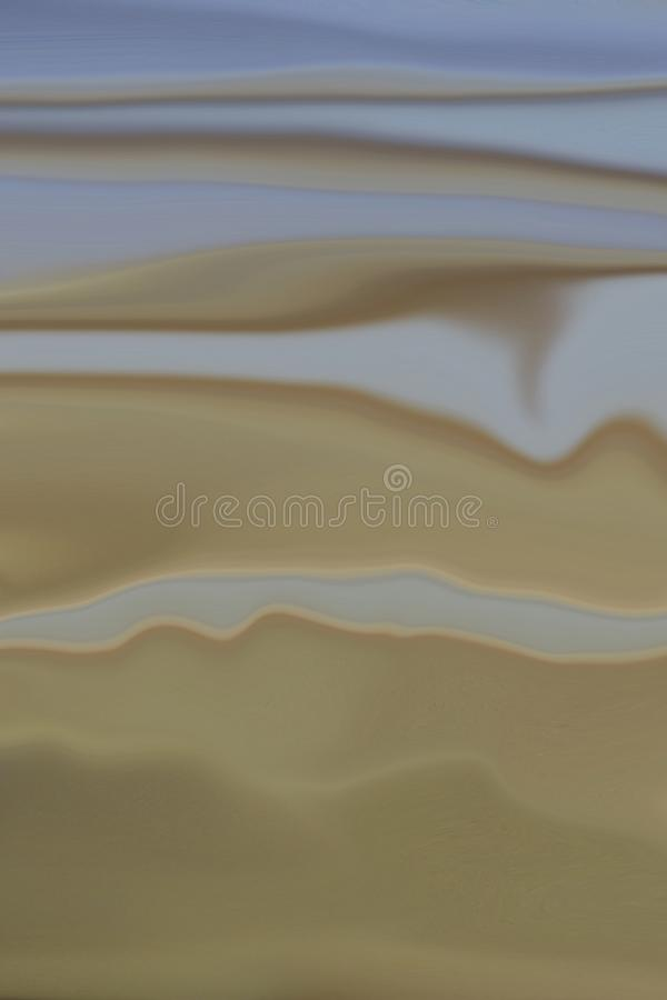Desert Sand Storm under Blue Sky _00382 royalty free illustration