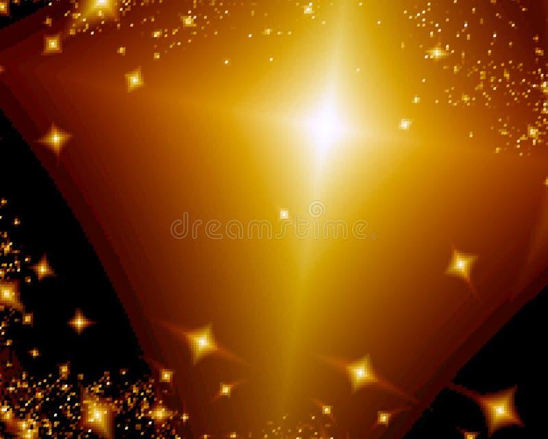 Abstract design stars. Background illustration stock illustration