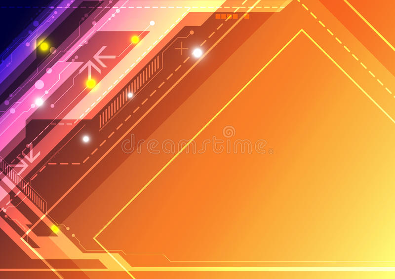 Abstract Design Technology Royalty Free Stock Photography