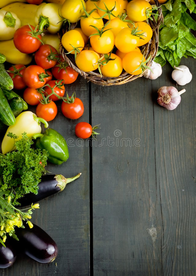 Abstract design vegetables background royalty free stock photo