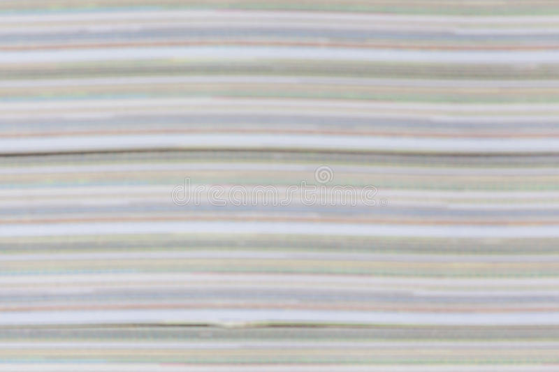 Abstract detail color and layer of book paper pages thick. Abstract detail color and layer of the book paper pages thick stock photography