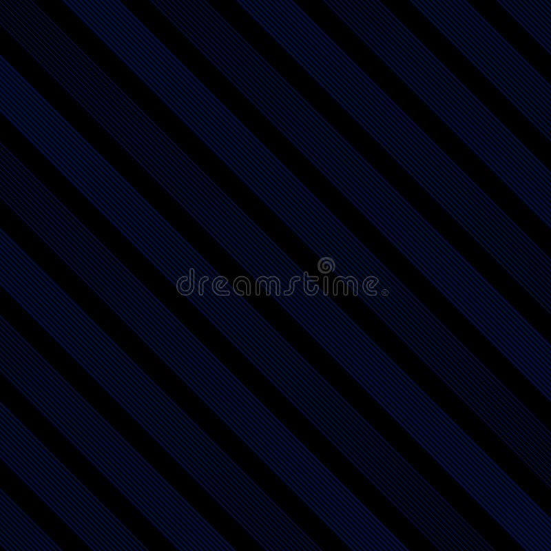 Abstract diagonal line striped navy blue and black color trendy vector illustration