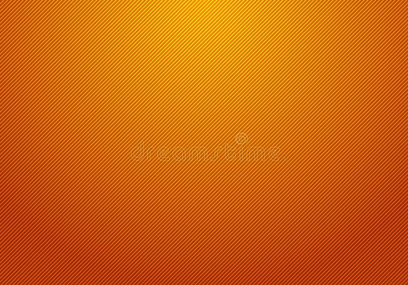 Abstract diagonal lines striped light and orange gradient background texture for your business royalty free illustration