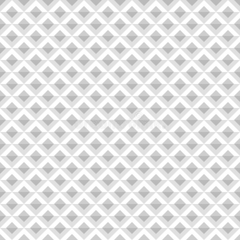 Abstract Diamond Pattern Vector naadloze geometrische achtergrond stock illustratie