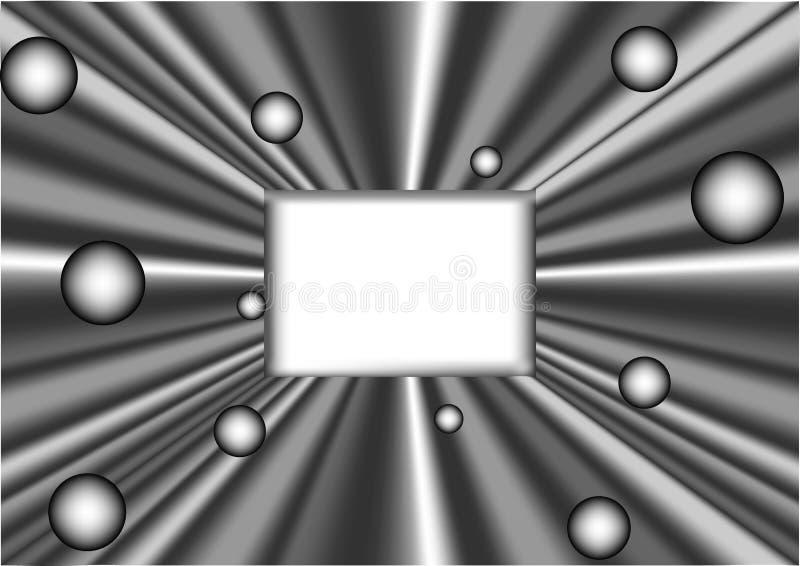 Abstract digitaal frame vector illustratie