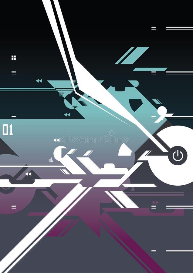 Download Abstract Digital Art stock vector. Image of arrow, swirl - 6717041