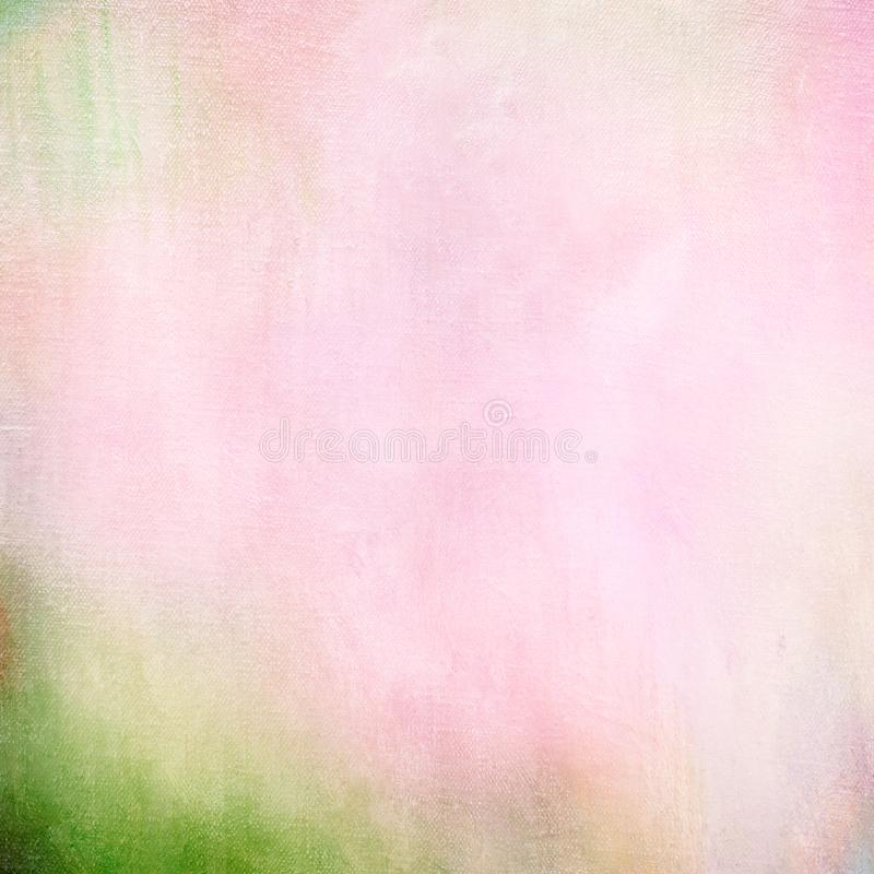 Abstract Digital Art Textured Effect Background in Pink and Green royalty free stock images