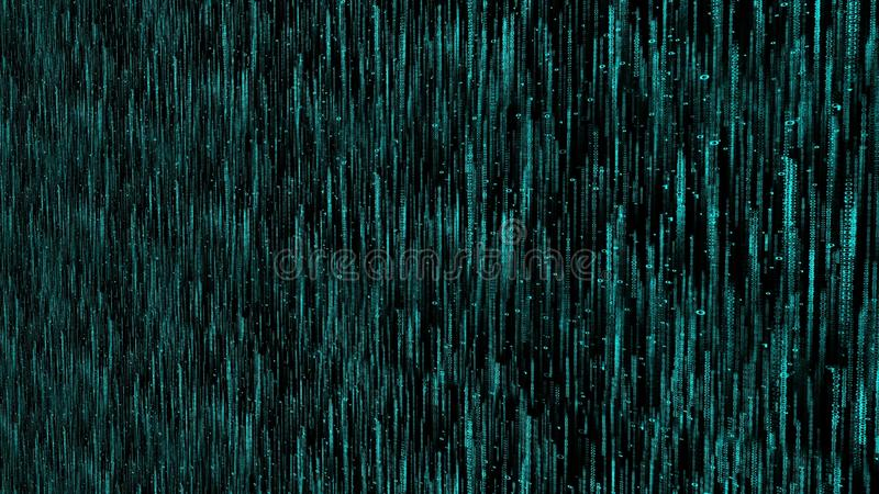 Abstract digital background numbers 0 and 1 computer machine matrix code vector illustration