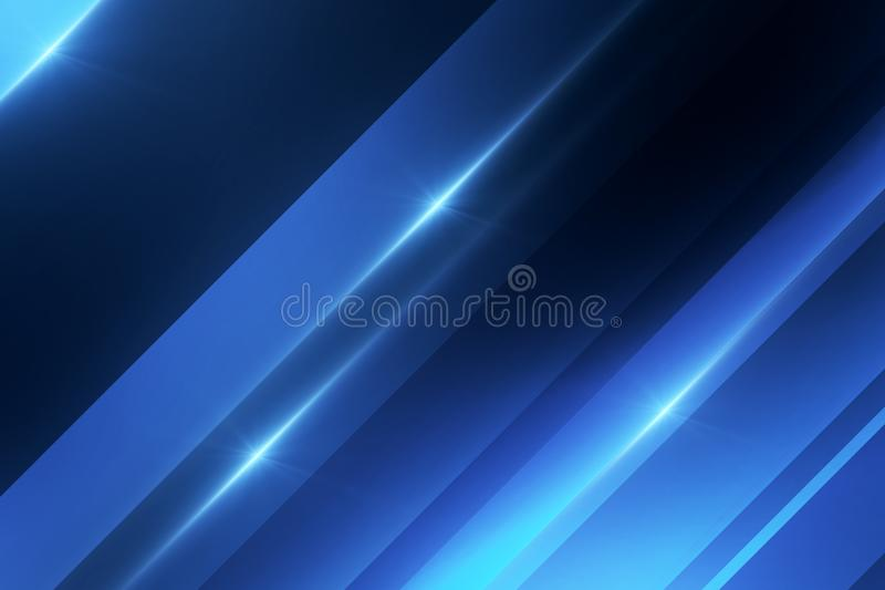 Abstract digital blue texture stock illustration