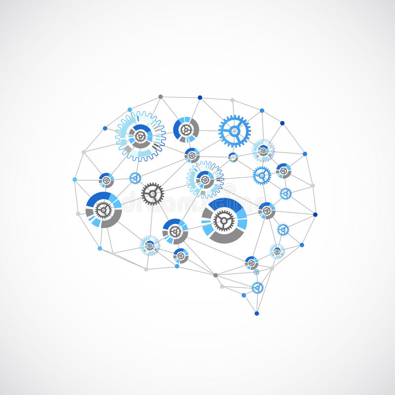 Free Abstract Digital Brain,technology Concept. Stock Photo - 53111080