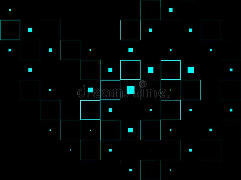 Abstract digital design stock photo