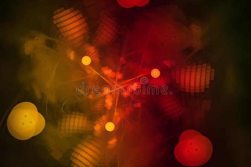 Abstract digital fractal motion colorful current firework chaos backdrop splash power fantasy explosion design splash, sparkle. Abstract digital fractal fantasy royalty free illustration