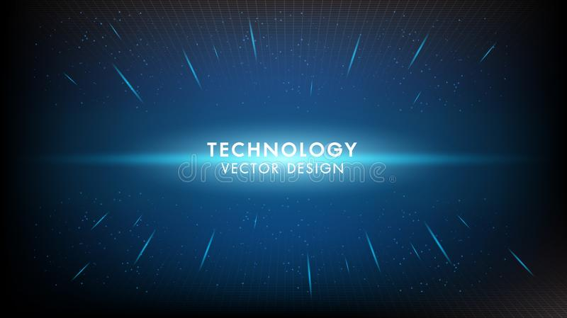 Abstract digital digital innovation technology concept vector background.Futuristic infographics aesthetic design vector illustration