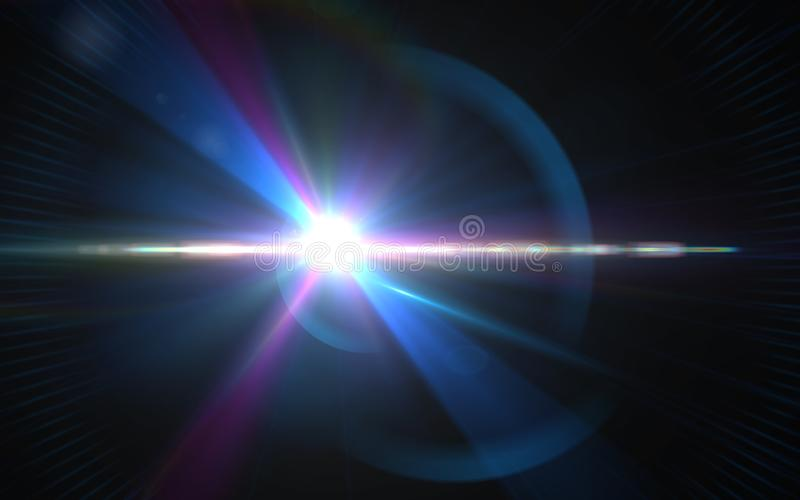 .Abstract digital lens flares special lighting effects on black stock images