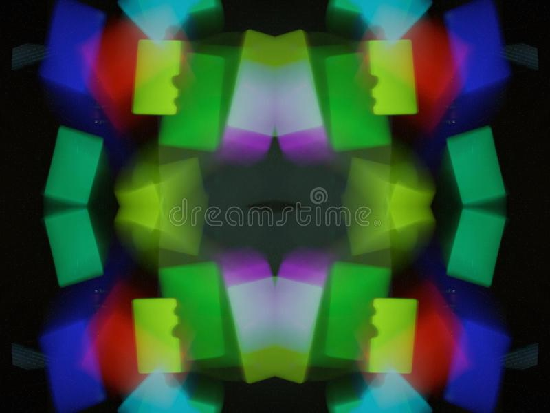 Abstract. Digital paintig and graphik royalty free stock photo