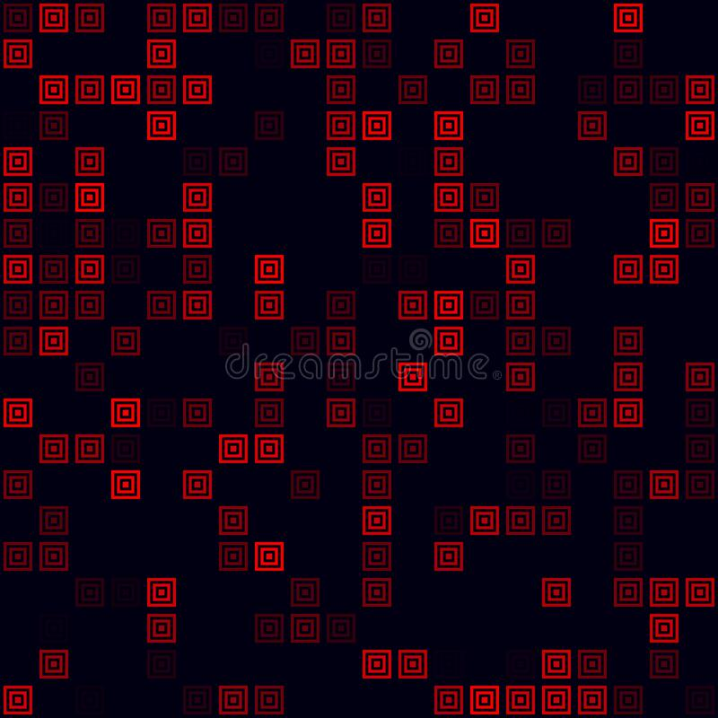 Abstract Digital Map Of World. Stock Vector