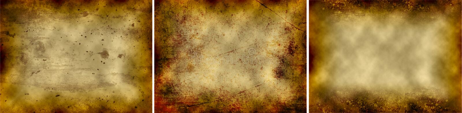 Abstract Dirty Surfaces vector illustration