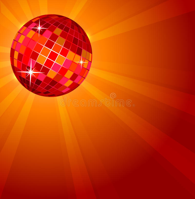 Download Abstract Disco Ball stock vector. Image of bright, glass - 17825984