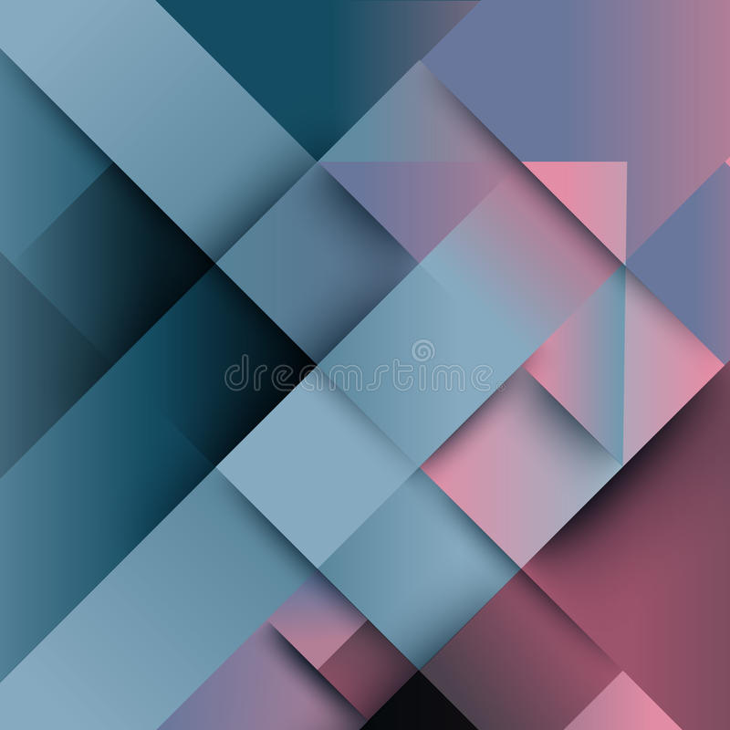 Abstract distortion from arrow shape background vector illustration