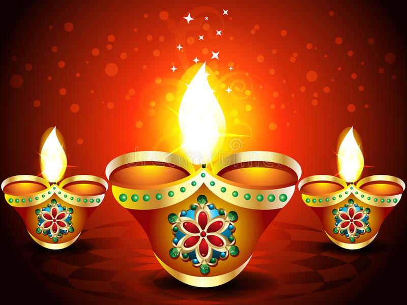 Download Abstract Diwali Background With Sparkle Stock Vector - Image: 32940478