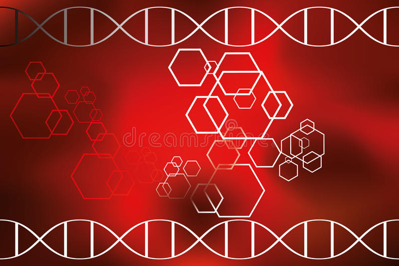 Abstract DNA science background. Available as eps and jpg-file vector illustration