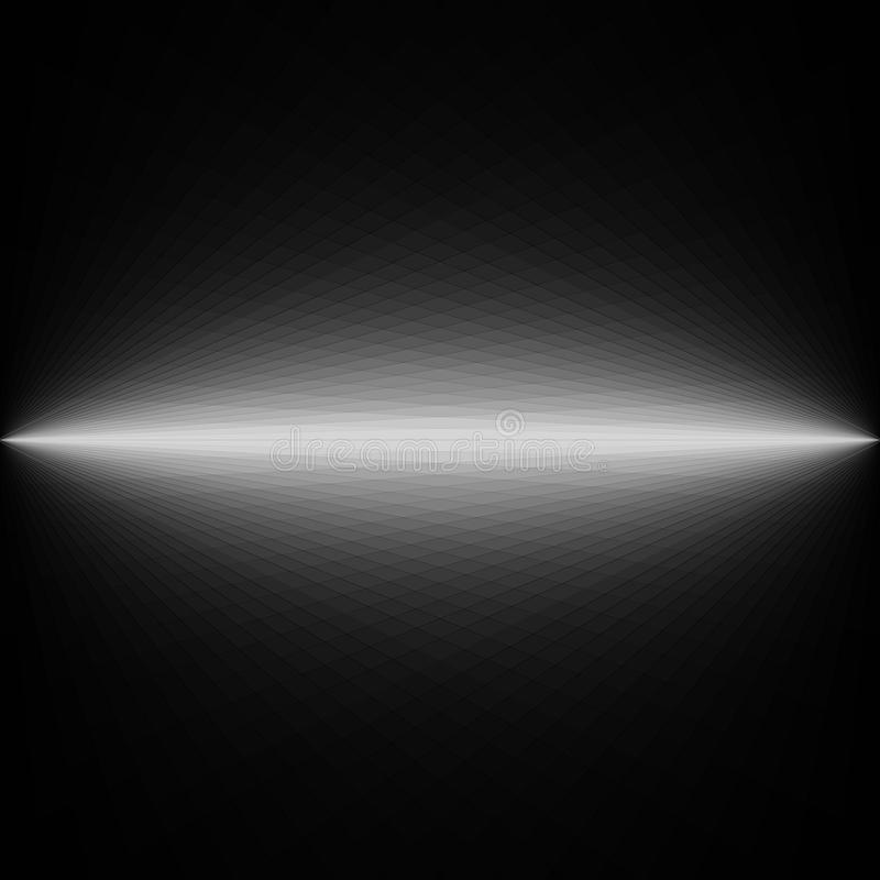 Abstract donker zwart-wit futuristisch ontwerp als achtergrond stock afbeeldingen