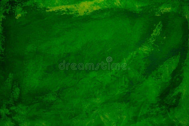 Abstract donkergroen grijnstucco wandachtergrond royalty-vrije stock afbeeldingen