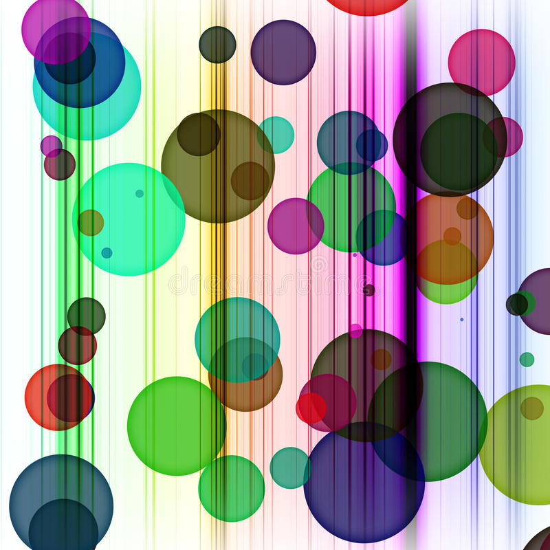 Download Abstract Dots and Lines stock illustration. Image of square - 14034384
