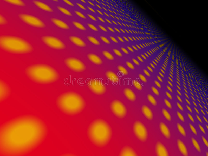 Abstract dotted backgroud stock illustration