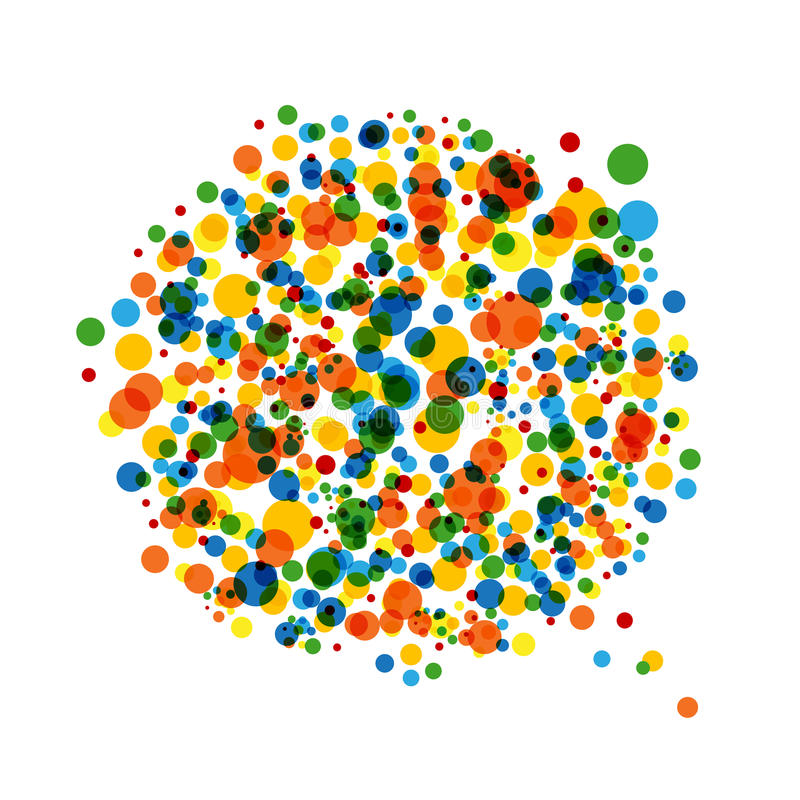 Abstract Dotted Background For Your Design Stock Image