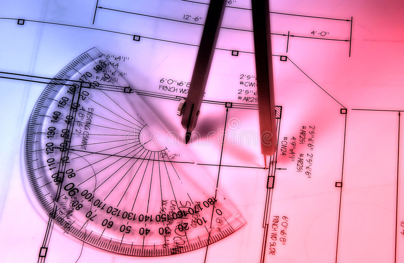 Download Abstract Drafting stock photo. Image of build, building - 47106