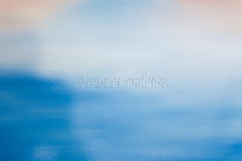 Abstract drawing of blue, red and white paint royalty free stock image