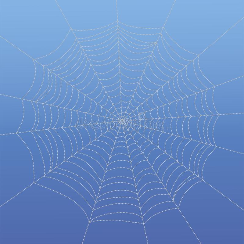 Abstract drawing spiderweb royalty free stock photo