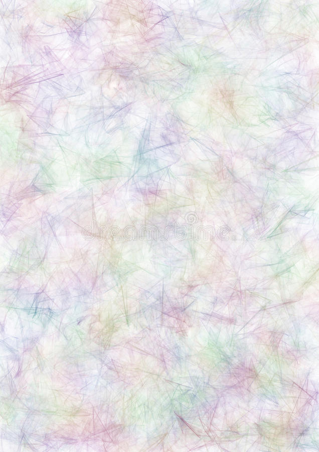 Abstract drawn watercolor background in blue, pink and violet colors. A4 size format. Effect of crumpled paper. Series of Watercolor, Oil, Pastel, Chalk and stock illustration