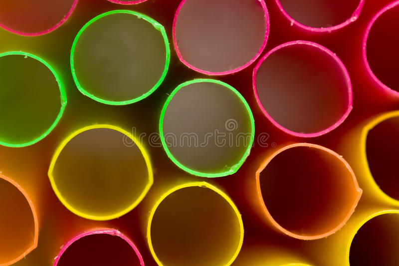 Abstract of drinking straw royalty free stock images